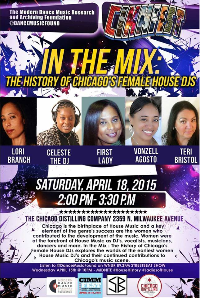 Chicago Female DJ Pioneer's 04/18/15