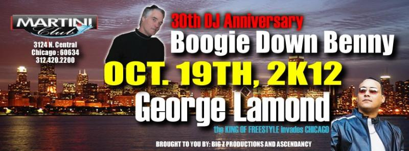 Boogie Down Benny's 30th DJ ANNIVERSARY