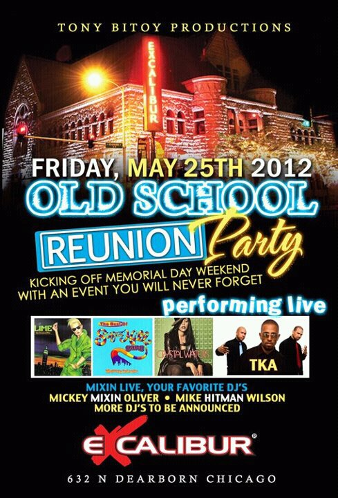 TONY BITOY'S EXCALIBUR OLD SCHOOL REUNION MAY 25TH 2012