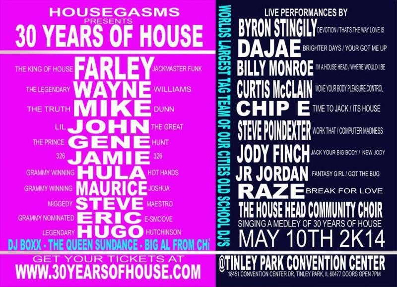 Farley's #0 Years of House 05_10_14