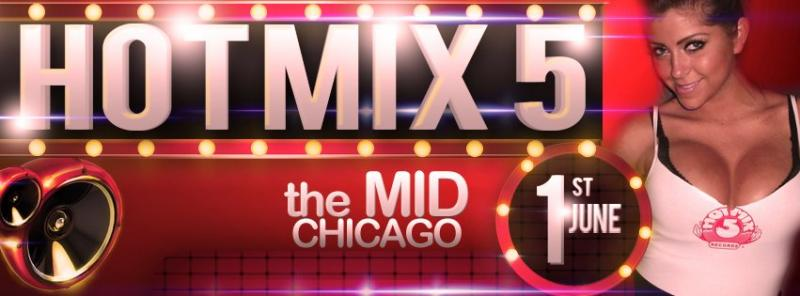 THE HOT MIX 5 REUNION JUNE 1ST, 2012 AT THE MID